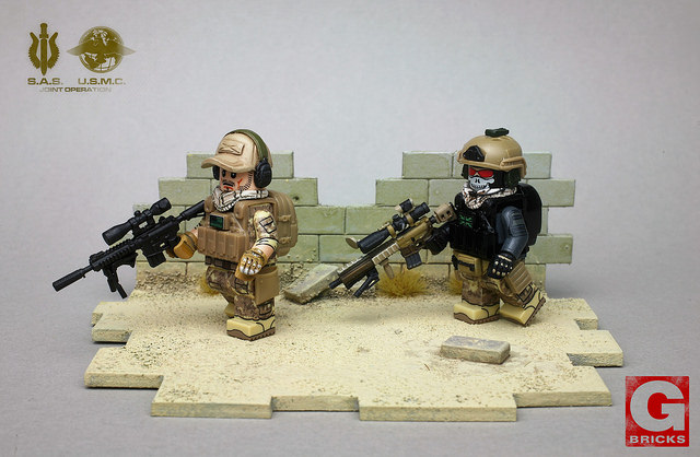 Joint Operation Custom Minifigures