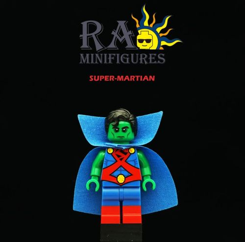 Super Martian Custom Minifigure