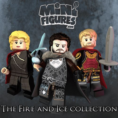 The Game of Bricks Custom Minifigures