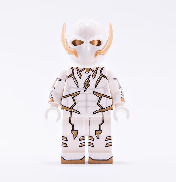 BrothersFigure White Lightning Custom Minifigure
