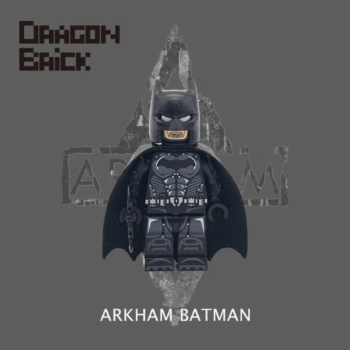 Dragon Brick Arkham Batman Custom Minifigure