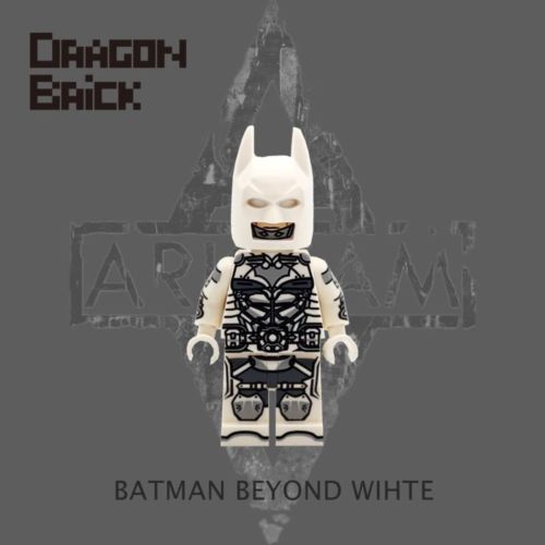 Dragon Brick Batman Beyond White Custom Minifigure