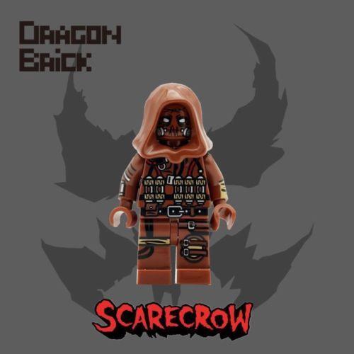Dragon Brick Scarecrow Custom Minifigure