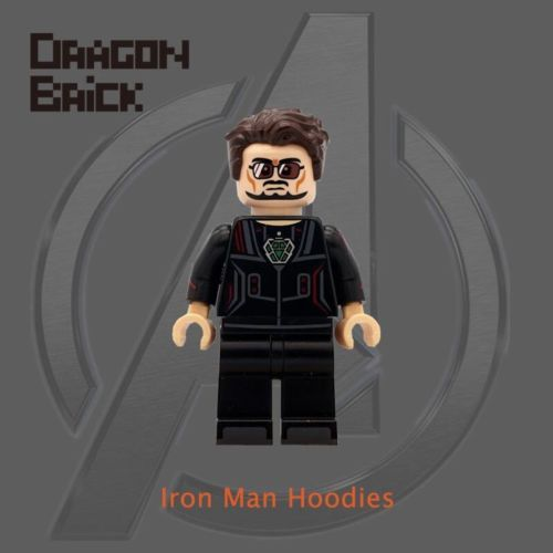 Dragon Brick Tony Stark Custom Minifigure