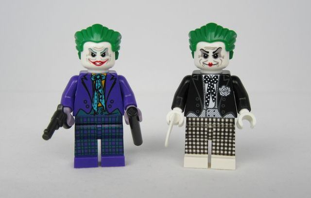 Joker Waller Customs Minifigures