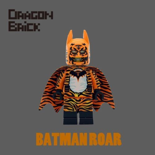 Dragon Brick Batman Roar Custom Minifigure