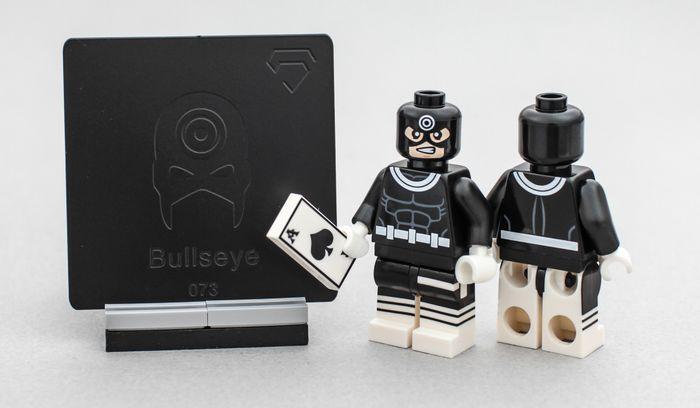 Crystal Minifigs Bullseye Custom Minifigure