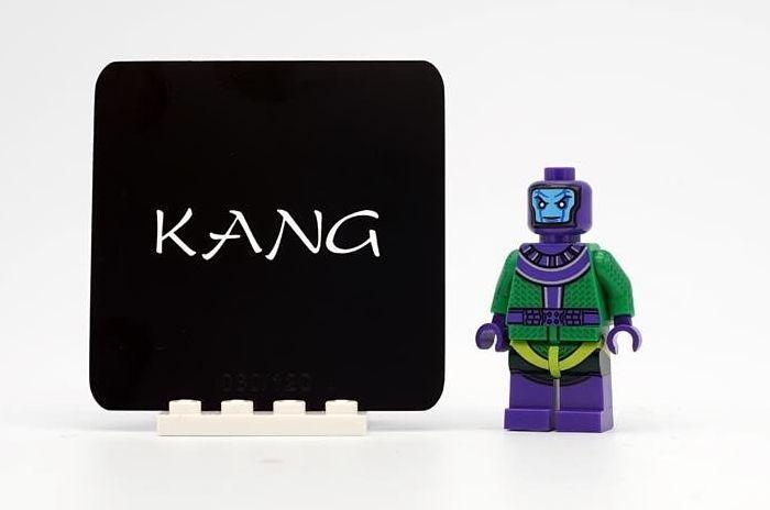 Crystal Minifigs Kang Custom Minifigure