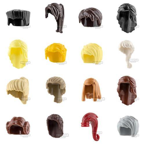 LEGO Hair Range
