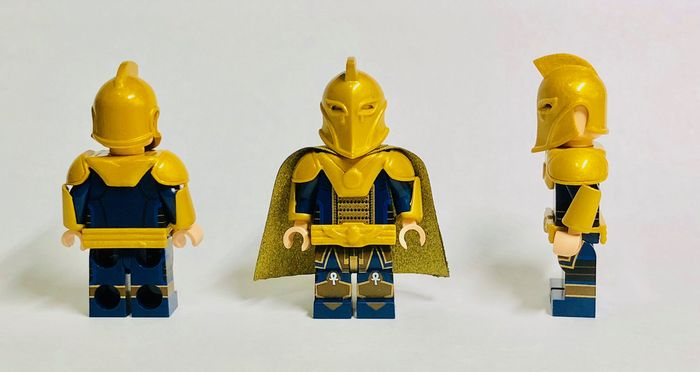Diamond Custom Bricks Dr Fate Custom Minifigure