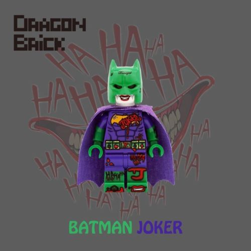 Dragon Brick Batman Joker Custom Minifigure