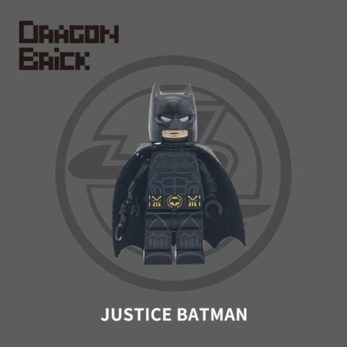 Dragon Brick Justice Batman Custom Minifigure