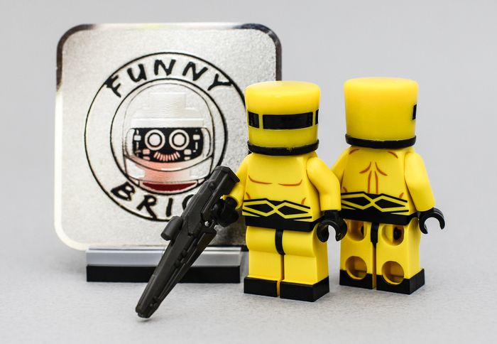 AIM Trooper Funny Brick Custom Minifigure