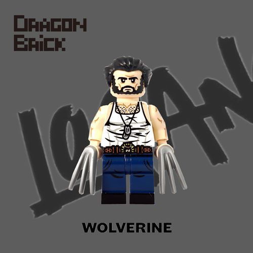 Dragon Brick Wolverine Custom Minifigure