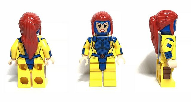 Uncanny Telepath Diamond CustomBricks Custom Minifigure