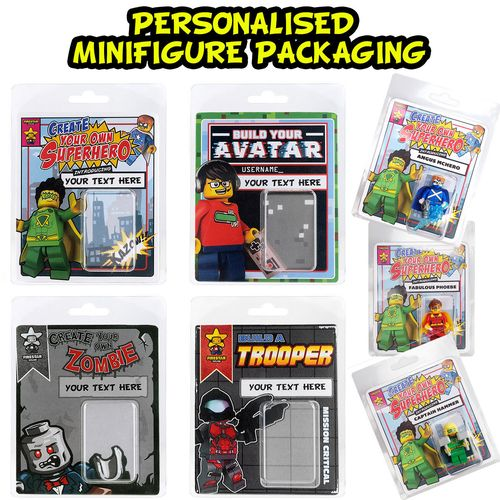 Personalised Minifigure Packaging