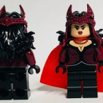 Diamond Custom Bricks Crimson Witch Custom Minifigure