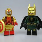 Outside Brick Hydra Batman & CNY Cap Custom Minifigures