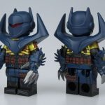 UG Knight Fall Bat Custom Minifigure