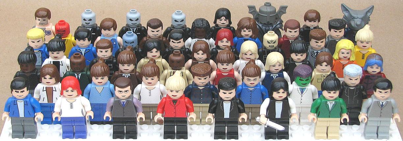 Lego Buffy custom minifigs