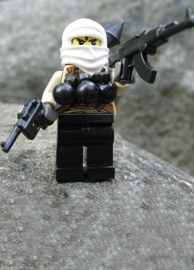 brick arms mr white custom mini fig