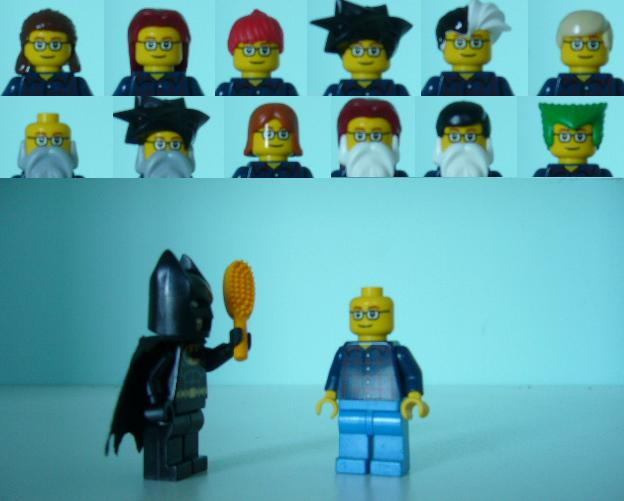 Lego minifig hairstyles