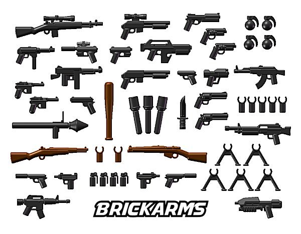 brick arms mega pack mini fig