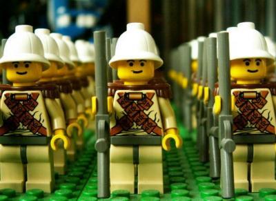 Boer War Lego custom minifigs