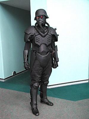 Helghast, Jin-Roh, custom, minifig, Kubrick, lego, army, military2