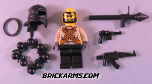 Brick Arms new custom minifig Mr Black