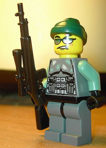 camo sniper custom minifig by Devil470