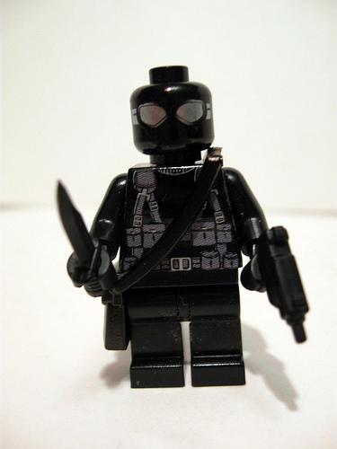 Lego custom minifig snake eyes