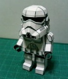 cool paper lego storm trooper