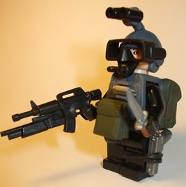 Corporation HALO Specialist custom minifig by jasbrick