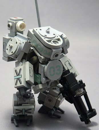 custom minifig hardsuit Russian Love by Chewk