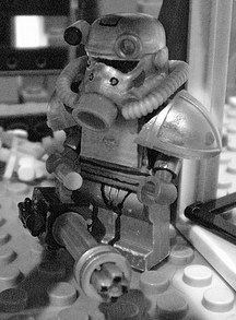 fallout 3 custom minifig by chaosfish1
