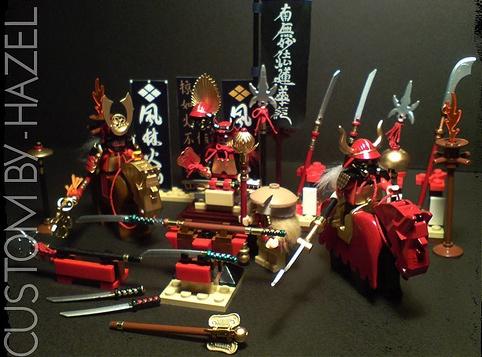Huntress & Batman Painted Custom Minifigures