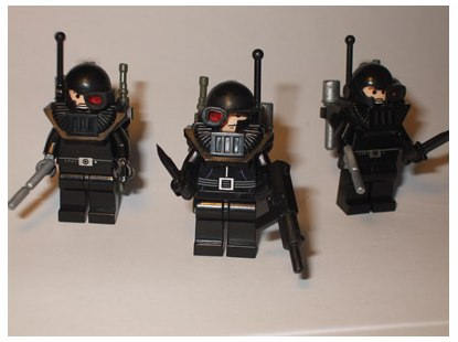 Jasbrick custom minifigs the Corporation Mad Dog Hvy Inf Kill Team