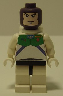 lego buzz lightyear custom minifig  by u7k6a123