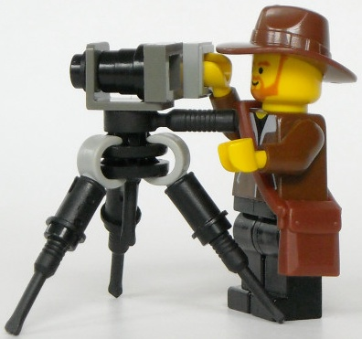 Lego custom minifig camera