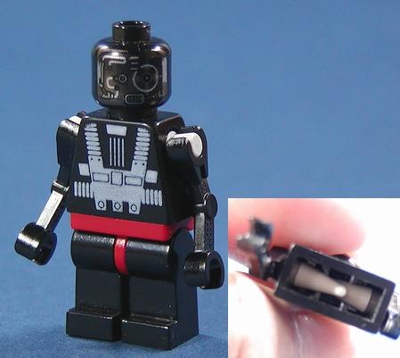 Lego custom arm mod