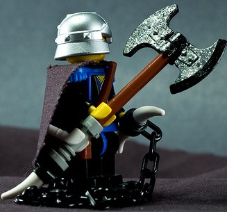 Lego D&D custom minifig by turkguy0319