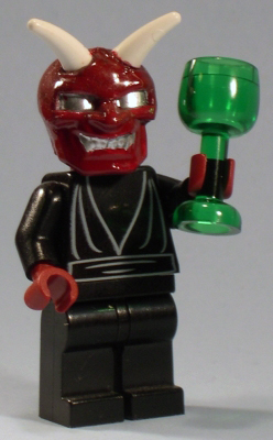 lego devil custom minifig by jared burks