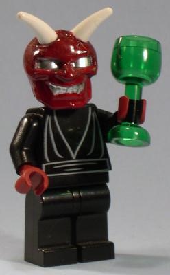 lego devil custom minifig by jared burks