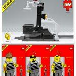 Lab9 Electric Crime Fighter Custom Minifigure