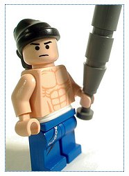 Lego gangsta custom minifig by lloyd w