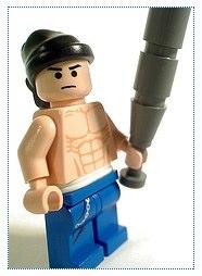 Lego gangsta custom minifig by lloyd w