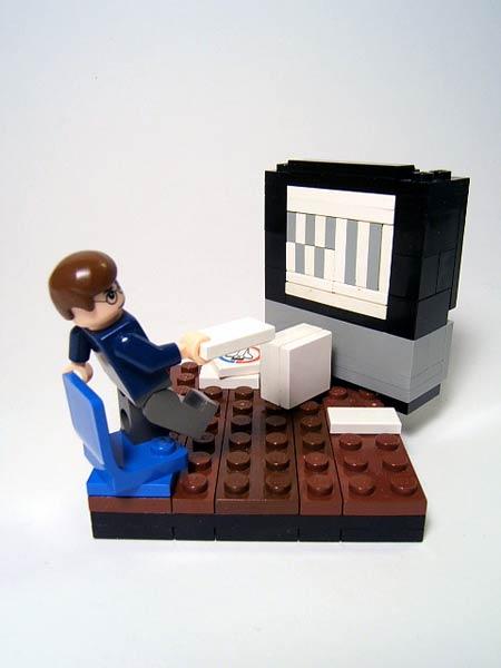 Lego Wii fan
