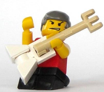 Lego rockstar custom minifig by mijasper
