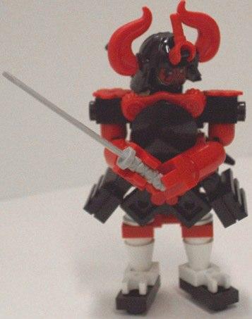 Lego samurai MOC by kv_draugaer